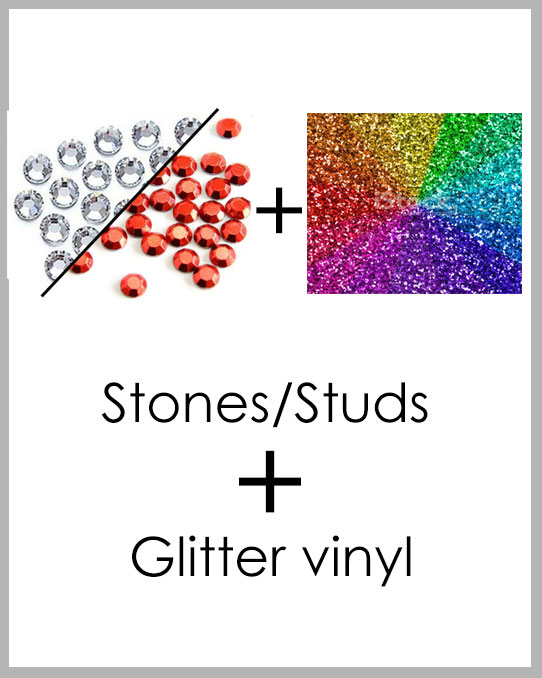 New Custom Project - Stones plus Glitter